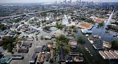 New Orleans devastating flood